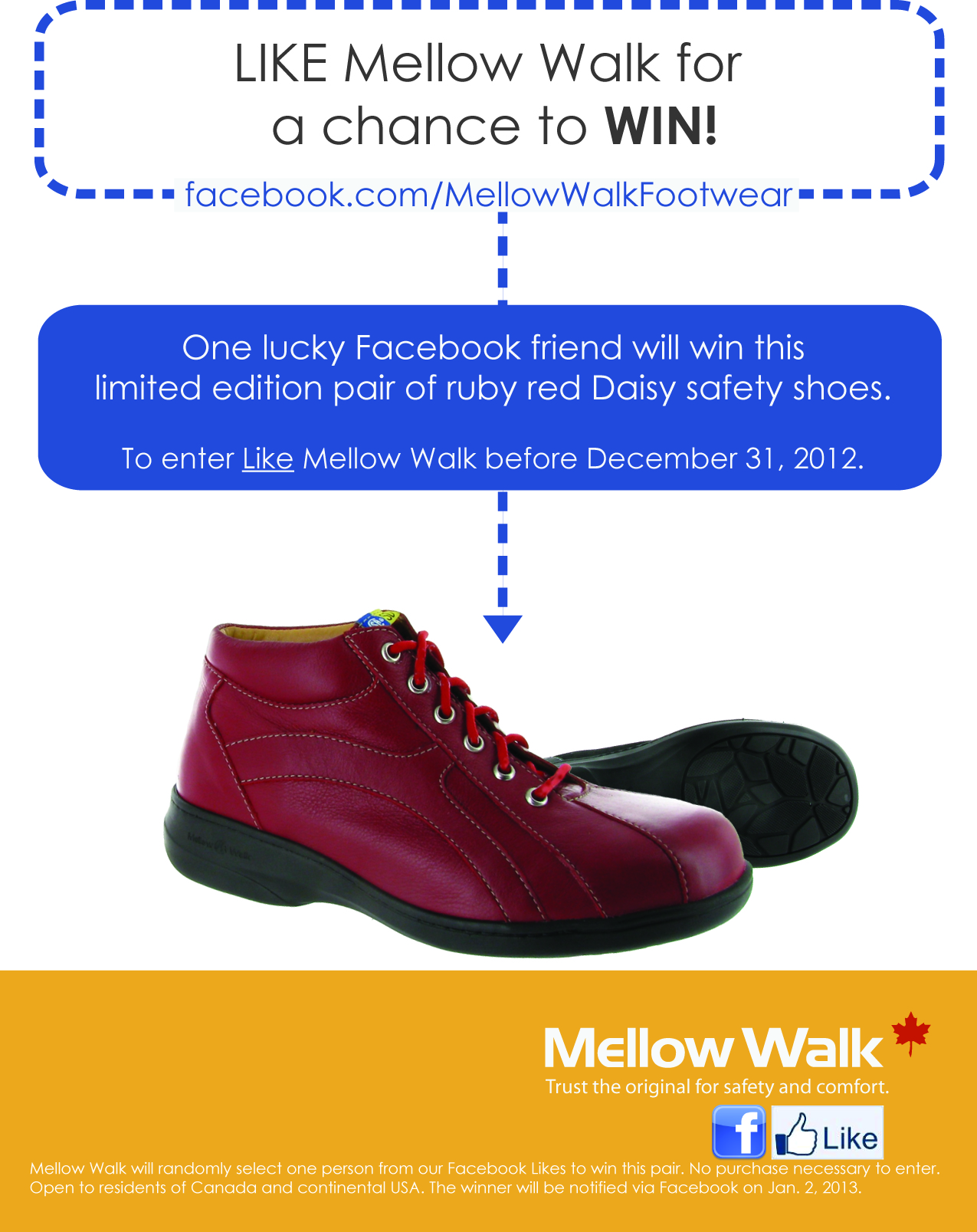 Win a pair of limited edition Mellow